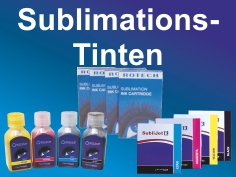 Sublimationstinten