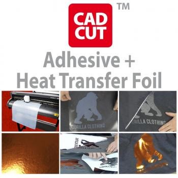 Adhesive + Heat Transfer Foil