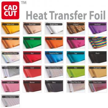 Heat Transfer Foil Farbkarte