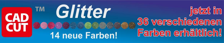 CAD-CUT Glitter neuer Farben